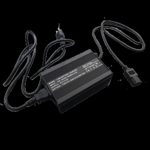 Chargeur à batteries 60v