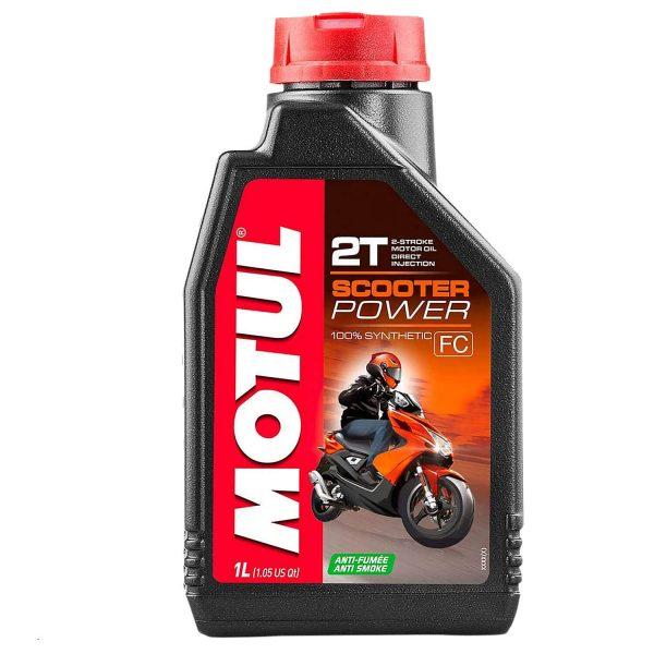 Huile Motul Scooter Power 2t