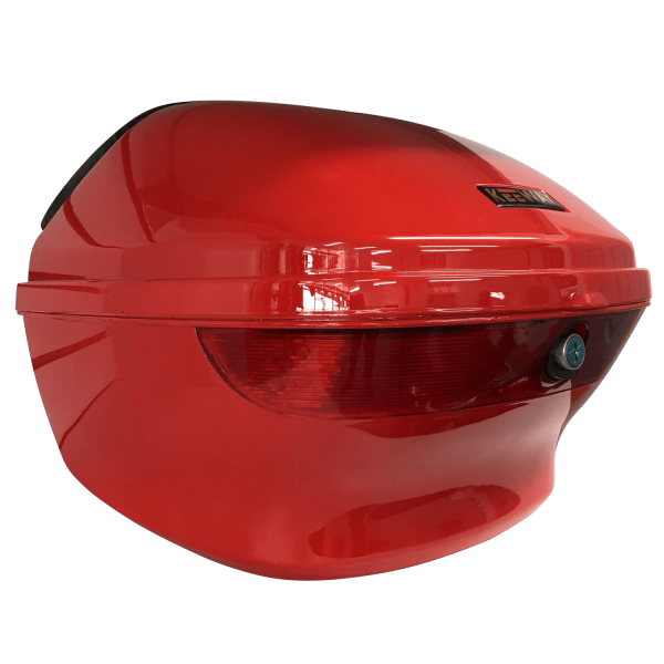 Boîte de transport rouge